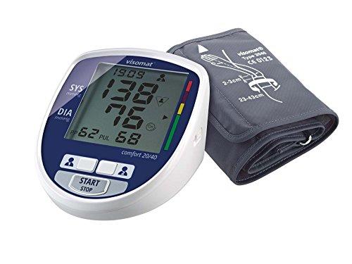 visomat comfort 20/40 - Blutdruckmessgerät Oberarm zur sanften Messung des Blutdruck schon während des Aufpumpens