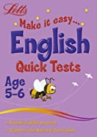English Age 5-6: Quick Tests (Letts Make It Easy)
