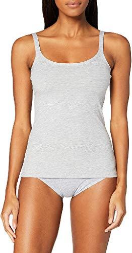 Fila FU6060, Undershirt Donna, Grey, XS