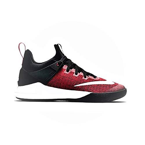 Nike Air Versitile II, Zapatos de Baloncesto para Hombre, Negro (Black/White-Gym Red 002), 41 EU