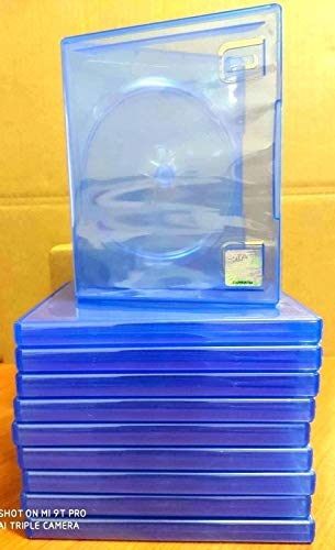 10 Official Sony PS4 PlayStation 4 Blue Replacement Game Cases OEM