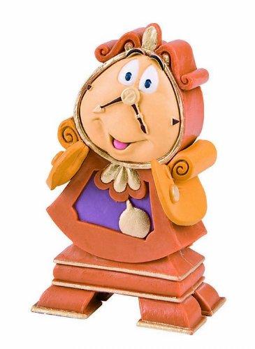 Bullyland 12563 - Spielfigur, Walt Disney Die Schöne und das Biest - Herr von Unruh, ca. 7 cm, liebevoll handbemalte Figur, PVC-frei, tolles Geschenk für Jungen und Mädchen zum fantasievollen Spielen