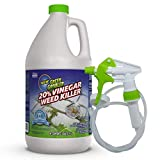 Green Gobbler 20% Vinegar Weed & Grass Killer | Natural and Organic | 1 Gallon Spray | Glyphosate Free Herbicide