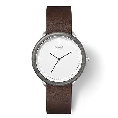 MAM Originals · Stainless Light | Relojes de hombre | Diseño minimalista | Creados con madera sostenible y acero inoxidable reciclado de MAM Originals