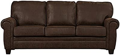 Amazing Amazon Com Aeon Furniture Zander Sofa In Caramel Finish Gmtry Best Dining Table And Chair Ideas Images Gmtryco