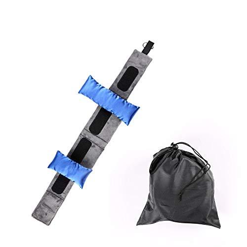 Angel Schal Kissen, Memory Foam Travel Nackenkissen, Komfort, Tragbarkeit, geben Ihnen die Beste Nackenstütze, geeignet für Zuhause, Outdoor-Reise verwenden
