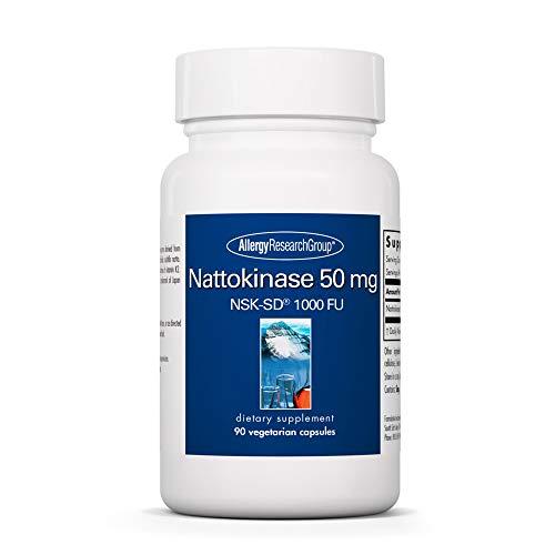 Allergy Research Group - Nattokinase NSK-SD 50mg - Cardiovascular/Circulatory Health - 90 Softgels