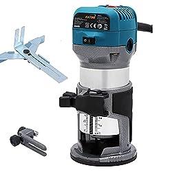 Katsu电动手修剪器木路由器