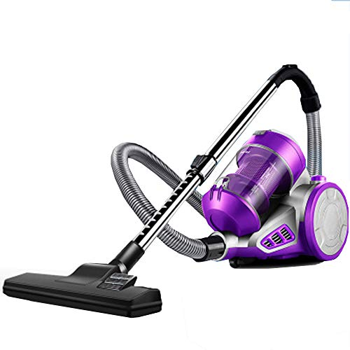 New SPMDH Vacuum Cleaner, 1400W Bagless Vacuum Cleaner, Cyclonic All Floor Cleaner Double Filtration...