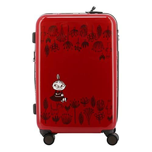[ムーミン] スーツケース 50L 62cm 3.9kg レディース レッド