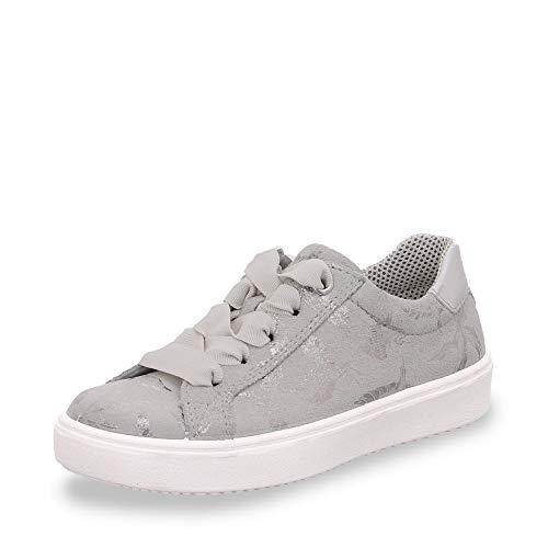 Superfit Mädchen Heaven Sneaker, Grau (Hellgrau 25), 33 EU
