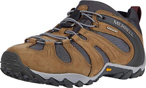 Merrell Men's Cham 8 Stretch Wp Hiking Shoe, Butternut, 10