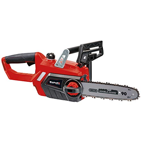 Einhell Power X-Change 18-Volt Cordless GE-LC 10-Inch, 2400 RPM, 4.3-MPS Cutting Speed Chainsaw, Tool Only (Battery and Charger Not Included)