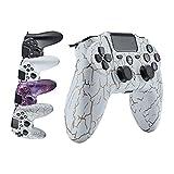 Wireless Controller für Ps4, Bluetooth Controller Ps4 Gamepad Joystick für PS4 Doppelte Vibration...