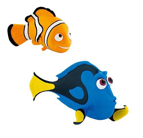 Bullyland Disney Pixar Finding Dory Figura 2Pack–Nemo y Dory