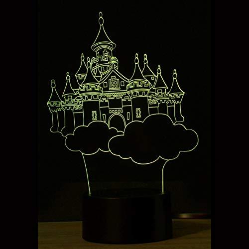 Pennytupu - Lámpara de mesa con interruptor táctil 3D Nizza