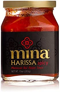 Mina Harissa Spicy Traditional Moroccan Red Pepper Sauce - 10 Ounce