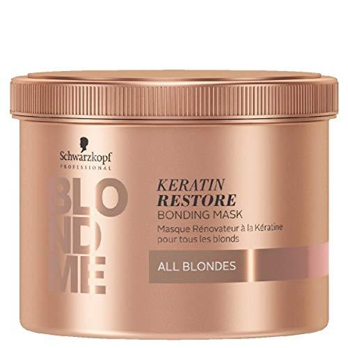 Schwarzkopf SCH338 Masque Blondme Keratin Restore All Blondes 500 ml