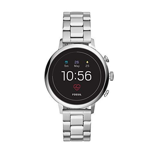 Fossil - Gen 4 Donna Smartwatch Venture HR Argento Acciaio Inossidabile - FTW6017