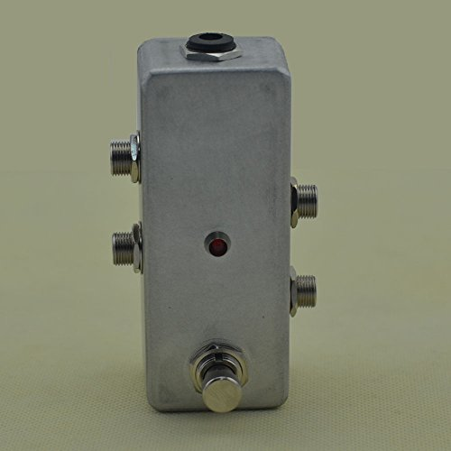 TTONE Effect Pedal Looper Guitar Pedals Loop Foot Switch True Bypass Mini Looping Switcher Chrome