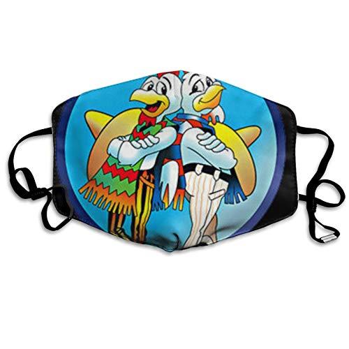 jhgfd7523 Cubierta de boca Los Pollos Hermanos - Funda de boca lavable reutilizable para nios y adultos