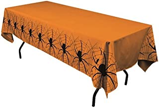 Orange Halloween Tablecloth