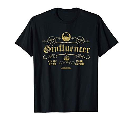 Gin Design für Wacholder-Fans Ginfluencer Gin T-Shirt