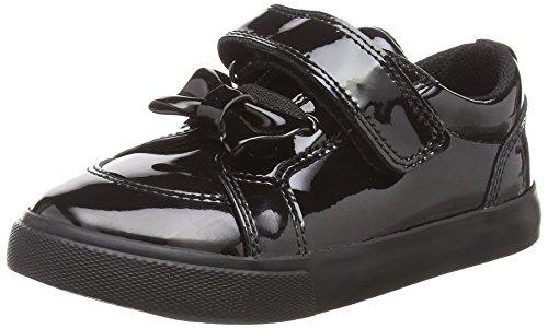 Kickers Baby Mädchen Tovni Bow Strap Sneaker, Schwarz (Black 0001), 29 EU