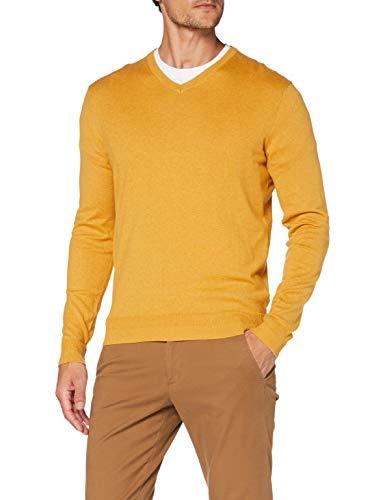 Esprit 090EE2I306 Pullover, Herren, Gelb L