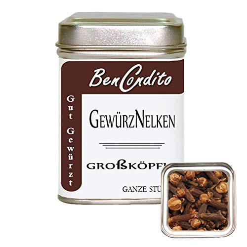 BenCondito - ganze Gewürznelken - Nelken Gewürz 50 Gr. Dose