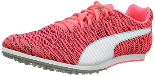 PUMA Evospeed Star 6 Junior, Zapatillas de Atletismo Unisex-Adulto, Rosa (Ignite Pink White Black 09), 35.5 EU