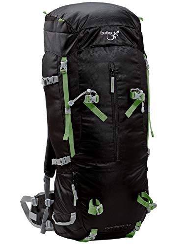 Freetime Votre Sac à Dos Grande contenance 80L pour Vos Longs treks ou randonnées - Everest 80 L