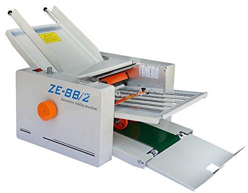 MXBAOHENG Papierfaltmaschine ZE-8B4 für Post/beschichtet/Drucken/Posterpapier/Zeitung