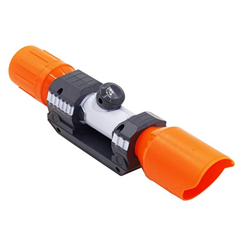 AngelReally Scope Sight for Nerf Gun,Plastic Detachable Tactical Scope Sight Attachment for Modify Toy Kids Gift (Scope Sight for Nerf Gun) (Orange Scope Sight for Nerf Gun)