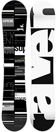 RAVEN Snowboard Supreme Black/Green (160cm)