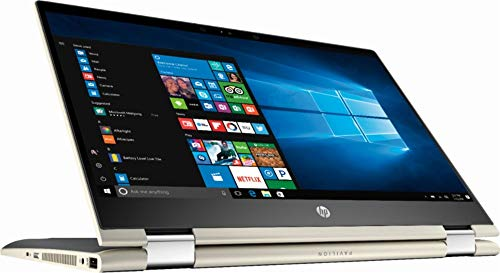 HP Pavilion x360 14' FHD WLED Touchscreen 2-in-1 Convertible Laptop, Intel Core i5-8250U up to 3.4GHz, 8GB DDR4, 128GB SSD, 802.11ac, Bluetooth, USB-C, Webcam, HDMI, Fingerprint Reader, Windows 10