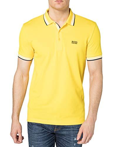 BOSS Paddy 10212415 01 Camisa de Polo, Amarillo Mediano: 726, M para Hombre