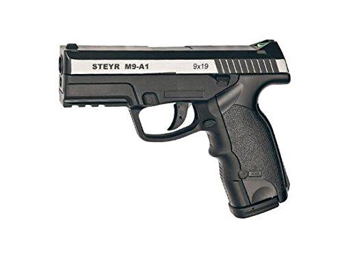 Asg Pistola semiautomatica perdigón Steyr M9-A1 Dual Tone. Calibre 4,5mm. 3,3 Julios. Co2. Modelo ASG16553