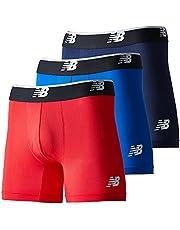 [ニューバランス] ボクサーブリーフ 【Limited】ボクサーブリーフ メッシュボクサー 5インチ 前閉じ 3pack メンズ LAU13015