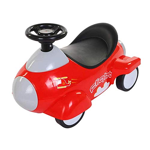 Best Bargain SMLZV Ride On Toy Sliding Car Pushing Cart Children's 4 Wheel Skating Twist Car for 1~4...