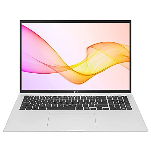 LG gram 17Z90P Silver, Ultra-Lightweight 1,350g, 17-inch Laptop, Long Lasting Battery up to 19.5...