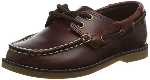 Timberland Unisex-Kinder Seabury Classic 2-Eye' Bootschuhe, Braun (Dark Brown 8a2), 26 EU