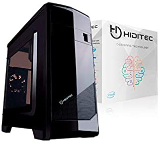 Hiditec Ordenador M10 I3-9100 S1151-ASUS H310-8GB DDR4 2400MHZ-120GB M.2-Grab-DVD-CARDREADER-Caja MATX M10-500W - WIN10H