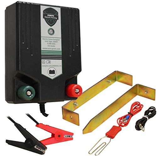 Electric Fence Energiser Battery Powered Fencing Unit 12V PLB13 1.3J