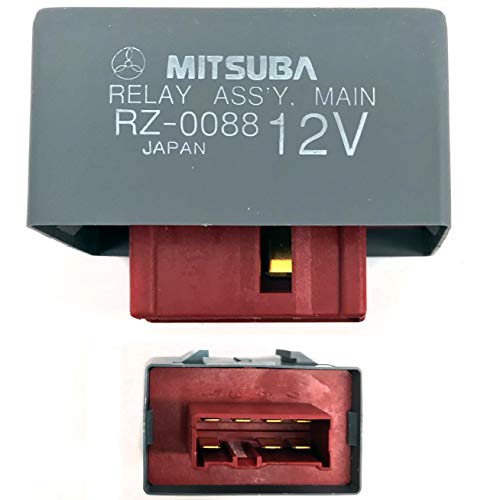 Main Relay Assembly | Fuel Pump | Fuel Injection -Civic del Sol CR-V Accord CRX Odyssey Integra TL CL 39400-SV4-003, 39400-SM4-003 - Genuine OEM MITSUBA Japan RZ-0088