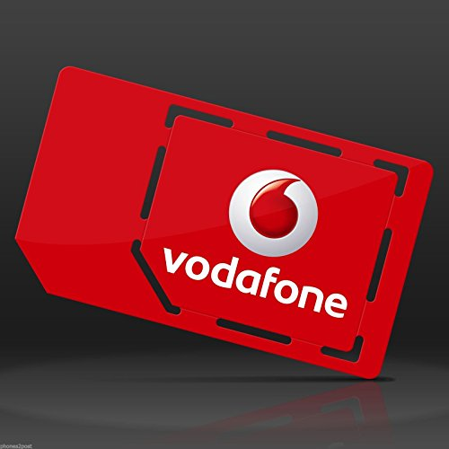 Vodafone 4G Superfast MULTI SIM Card Pay As You Go For iPhone 4, 4S, 5, 5C, 5S, 6, 6S, 6+, iPad 3, 4, 5, Air/Air 2 / Galaxy S3, S4, S5, S6 S6-Edge, Galaxy Tab/Notes 2, 3, 4, 5, HTC, Sony, Blackberry & All Mobile Device - UNLIMITED CALLS, TEXTS & DATA -  MOBILES DIRECTS COMMUNICATIONS LTD
