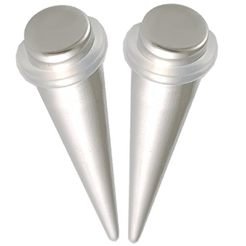 bodyjewelry top taper steel sili o ring 10mm-de