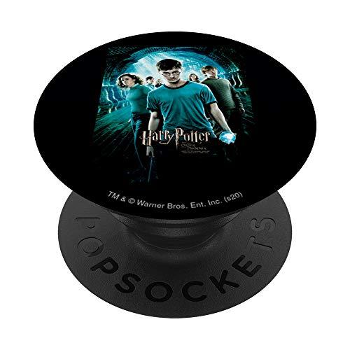 Harry Potter Order of The Pheonix Poster PopSockets PopGrip: Ausziehbarer Sockel und Griff für Handys/Tablets mit Tauschbarem Top