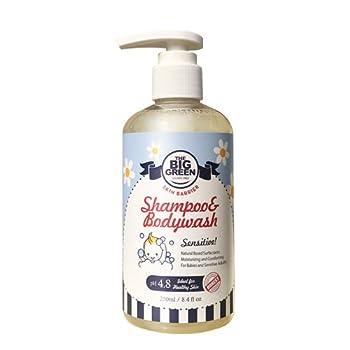 BIGGREEN Baby Shampoo and Body Wash