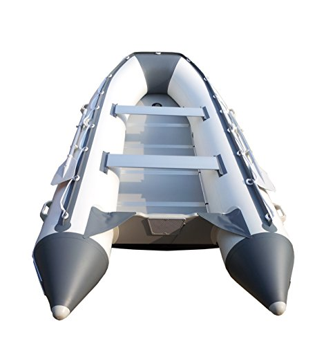 Newport Vessels 12ft 6in Catalina Inflatable Dinghy Boat Transom Sport Tender - 6 Person - 20 Horsepower USCG Rated